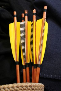 self-nocked arrow